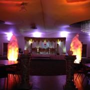 silk flame machine hire