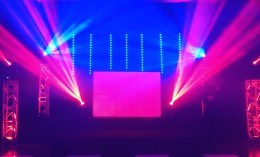 Wireless LED Tube Backdrop